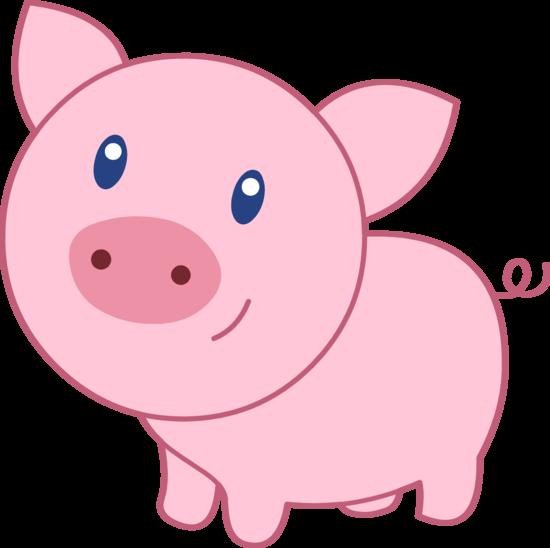 pig clipart vector
