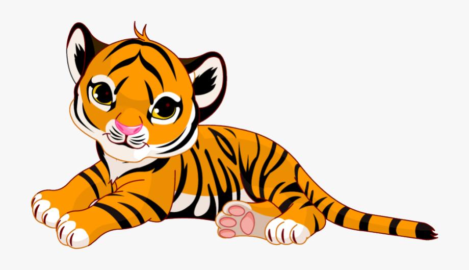 Baby tiger clip.