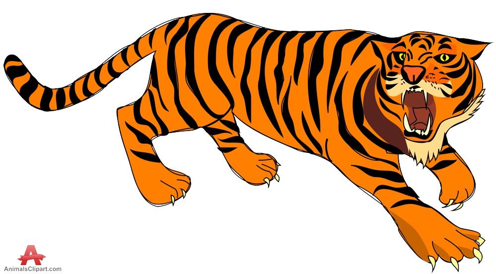 Animals clipart tiger.
