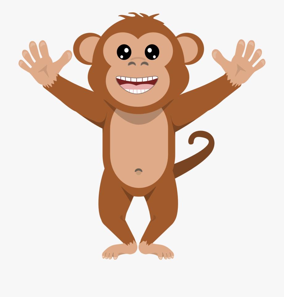 Ape clipart transparent.