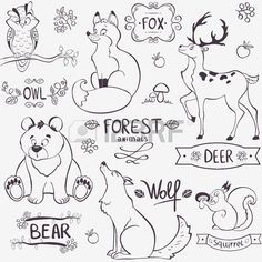 Forest clipart black and white animal. Forest clipart black and white animal. Image result for