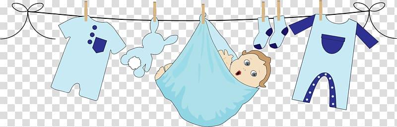 Babys blue animated.