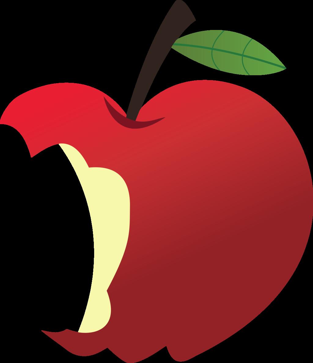 Free bitten apple.