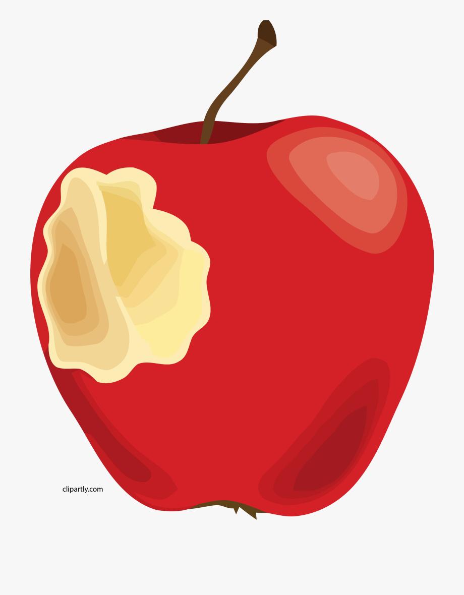 Apple with bite.