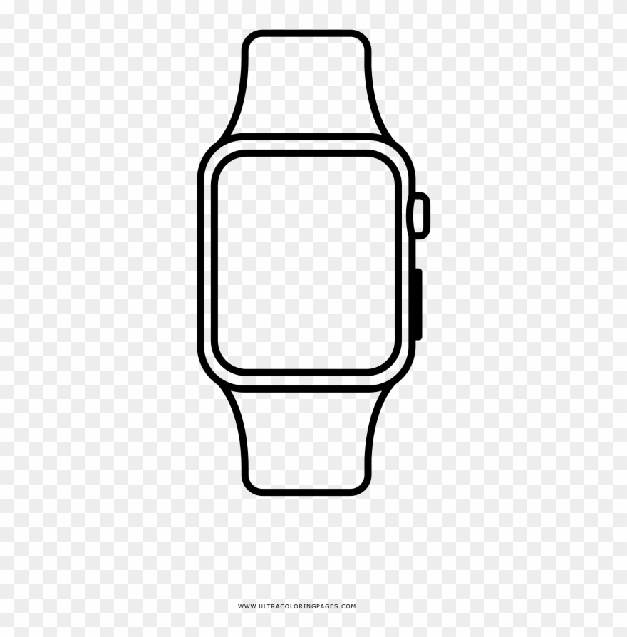 Apple watch coloring.