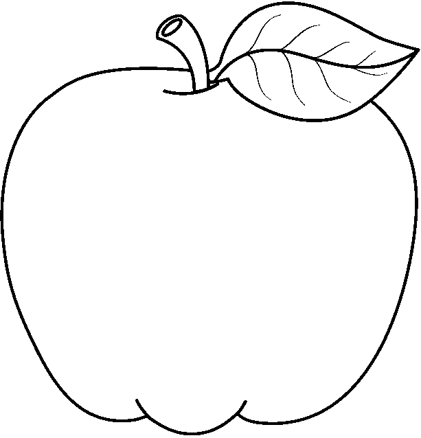 Apples clipart drawing.