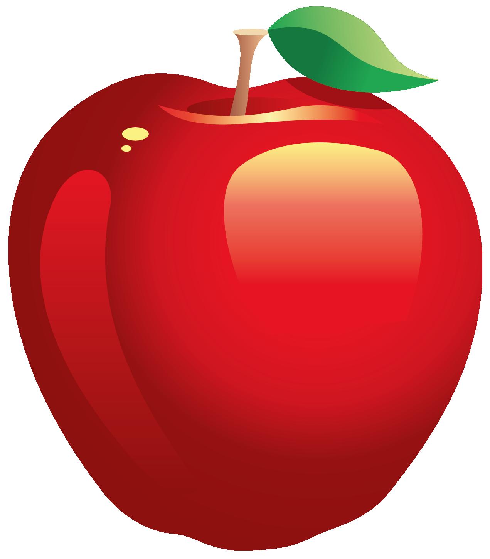 Free transparent apple.