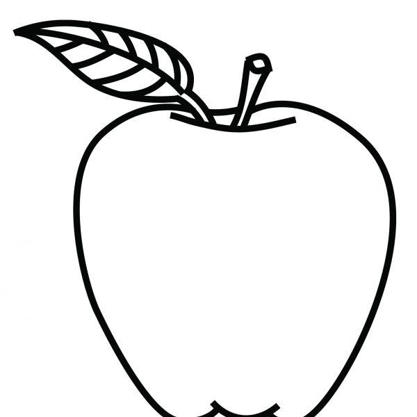 Apple tree coloring.