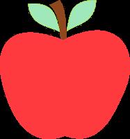 Cute Apple Clip Art