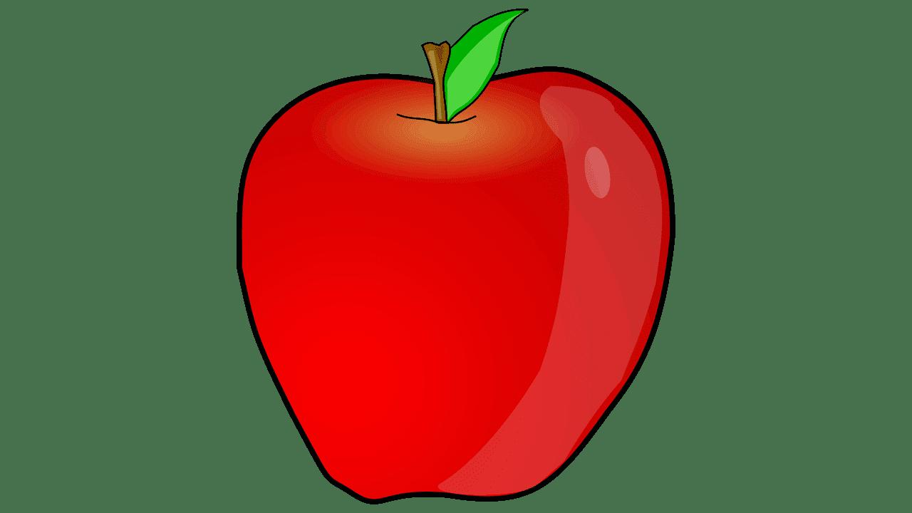 Apple fruit free.