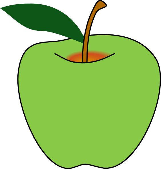 Free green apple.