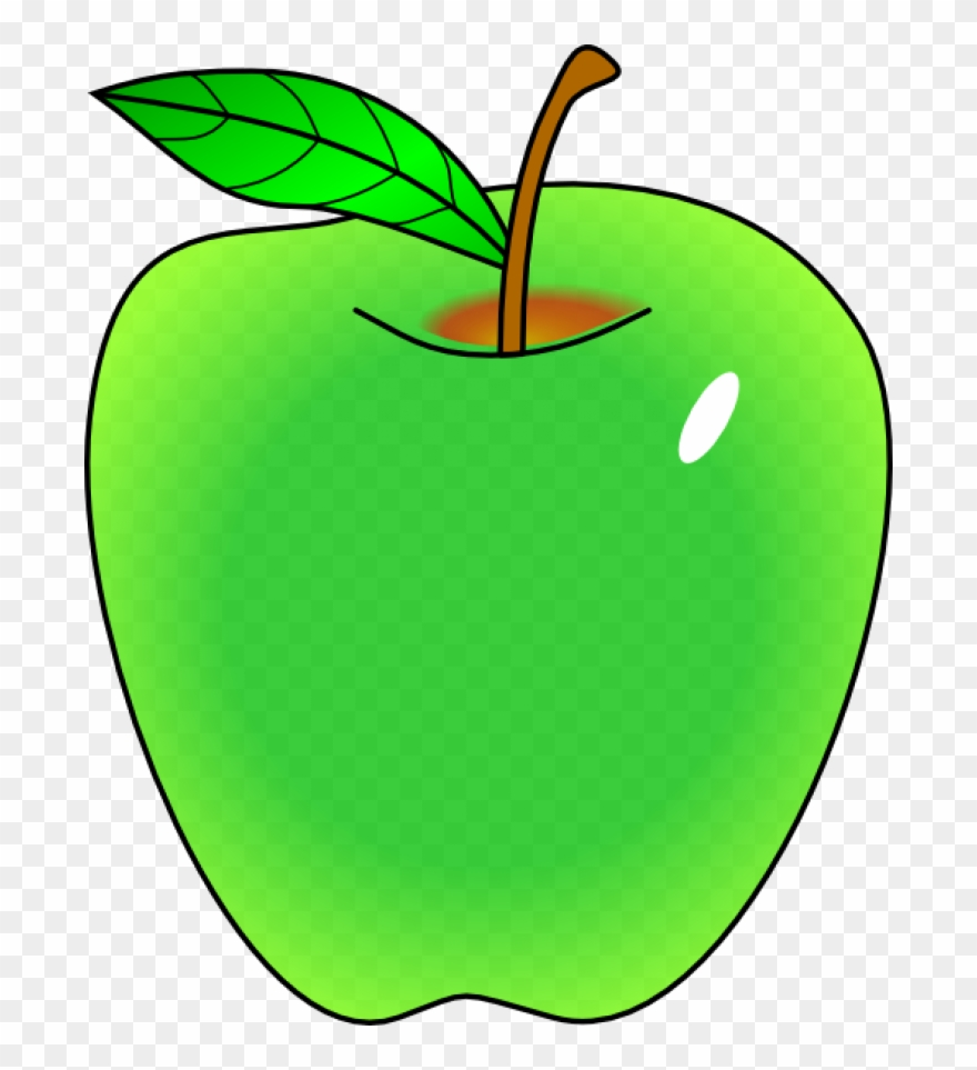 Apple clipart vector.