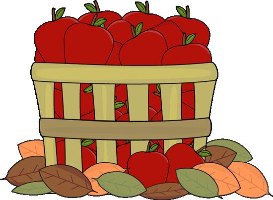 Autumn apples clip.