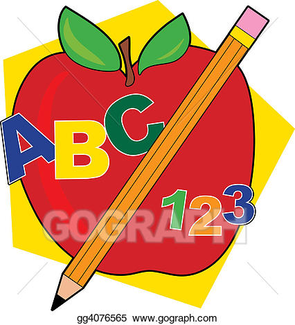 Stock illustration abc.