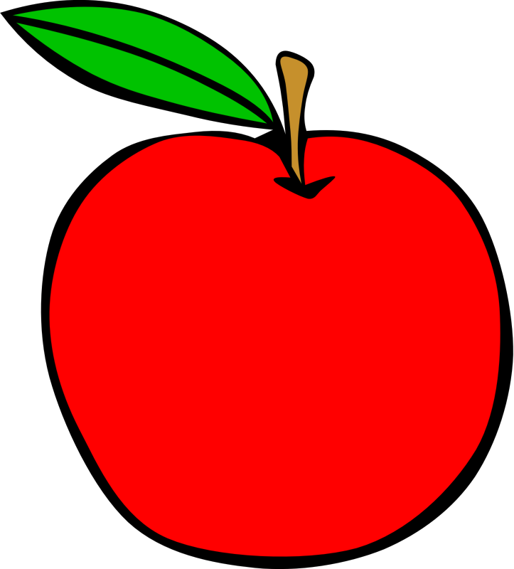 Clipart apple printable, Clipart apple printable Transparent