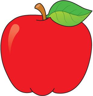School apple clipart.