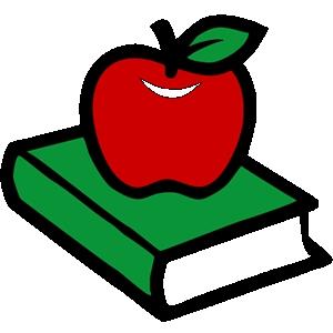 School Apple Clip Art