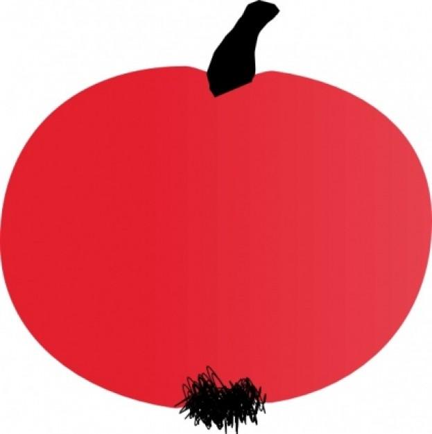Simple apple clip art