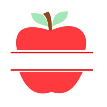 Teacher appreciation apple.
