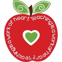Free teacher heart.