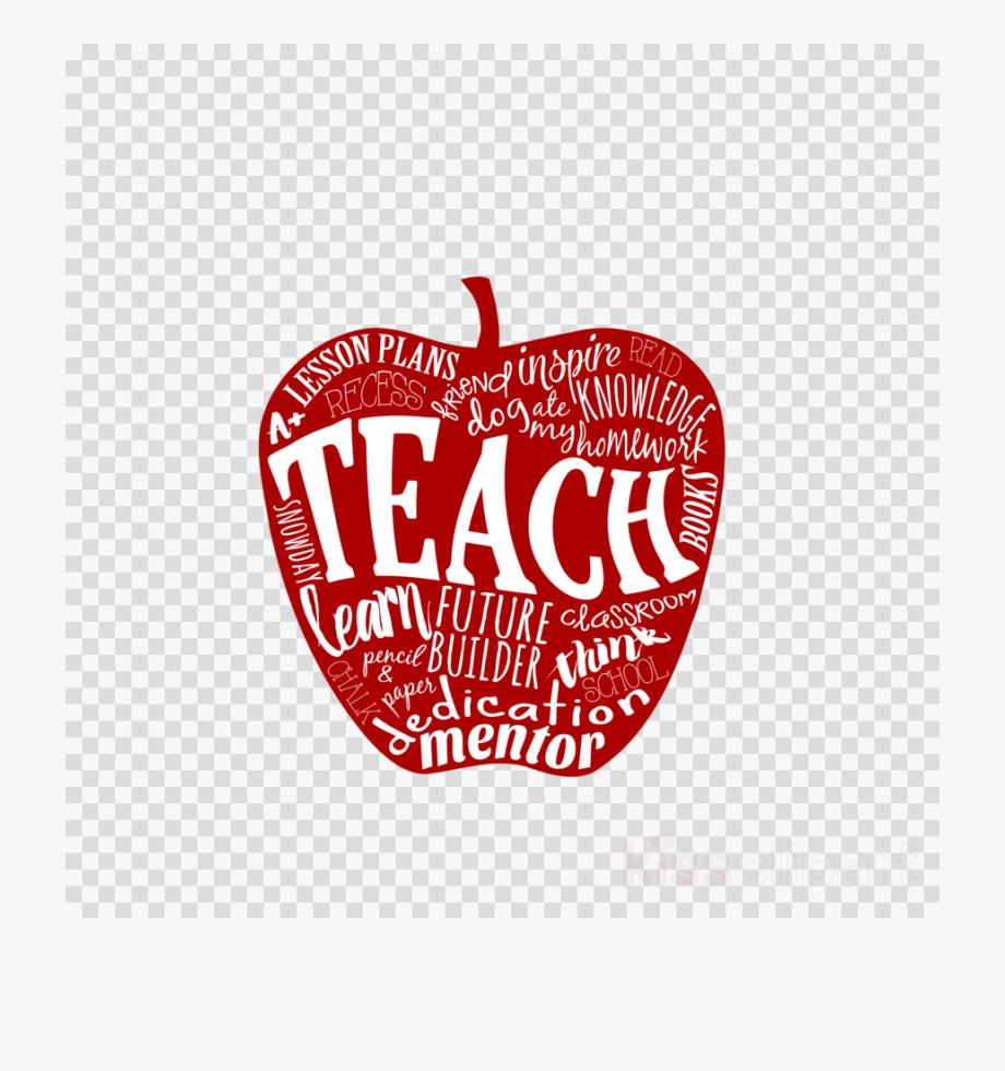 Apple png teacher.