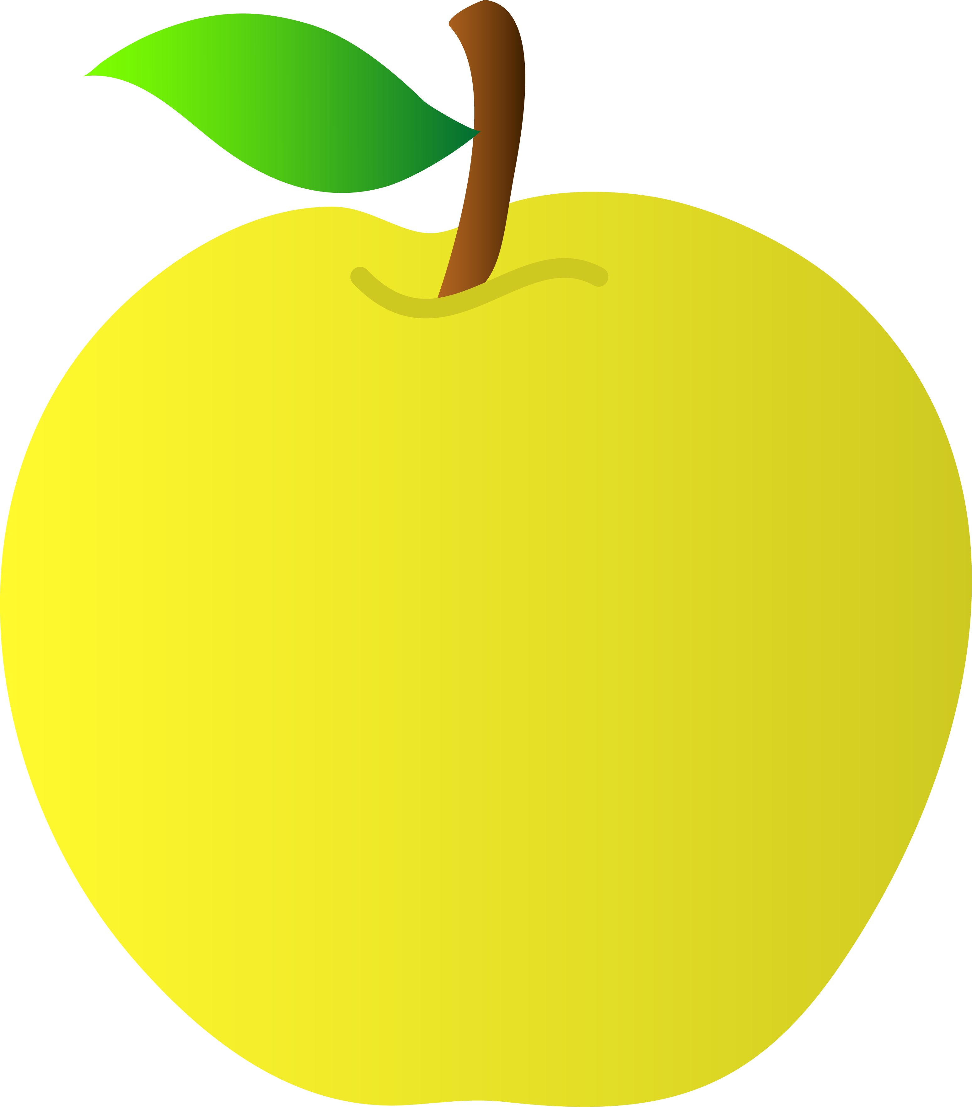 Free Yellow Apple Pictures, Download Free Clip Art, Free