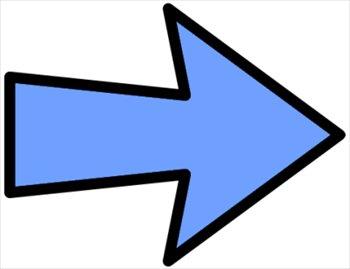 arrow clipart free down