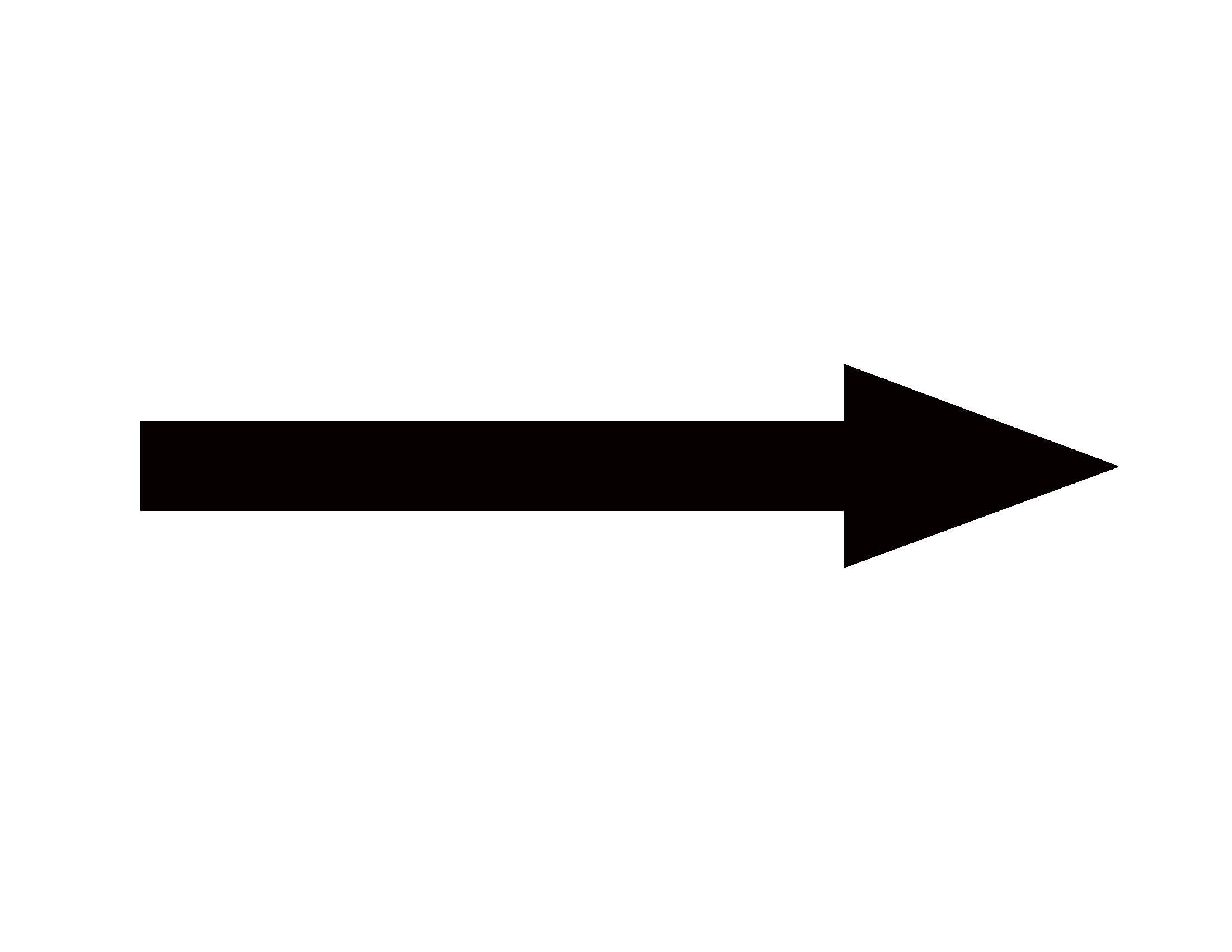 arrow clipart free silhouette