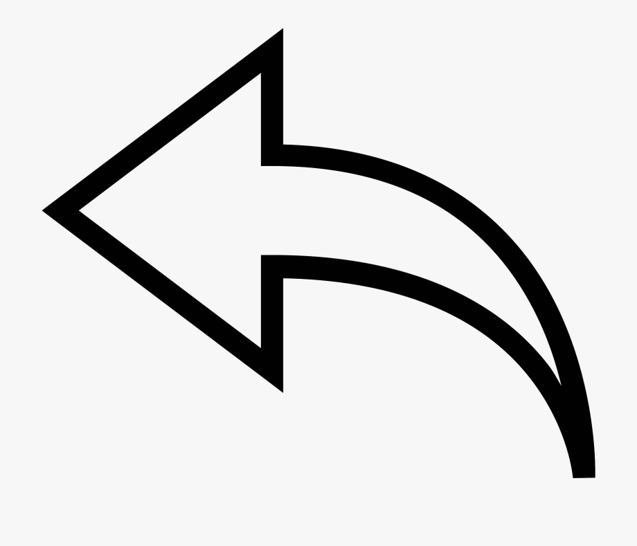 Arrow Transparent Curved Line
