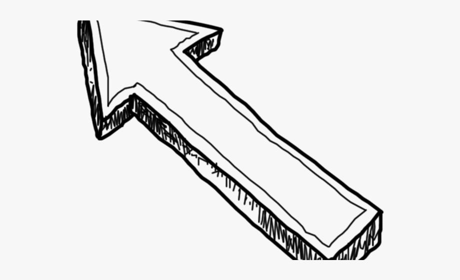 arrow clipart free doodle