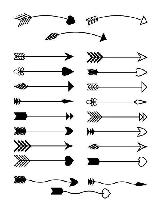 Arrows clipart rustic arrow.