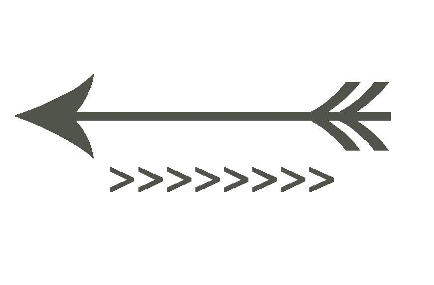 Decorative arrow clipart.