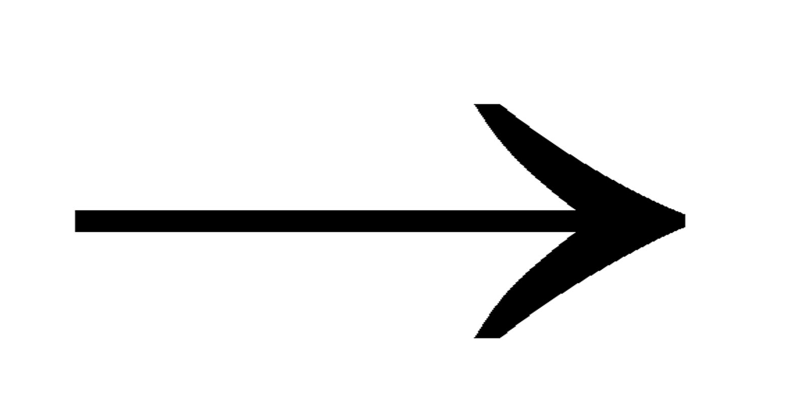 Fancy arrow clip.