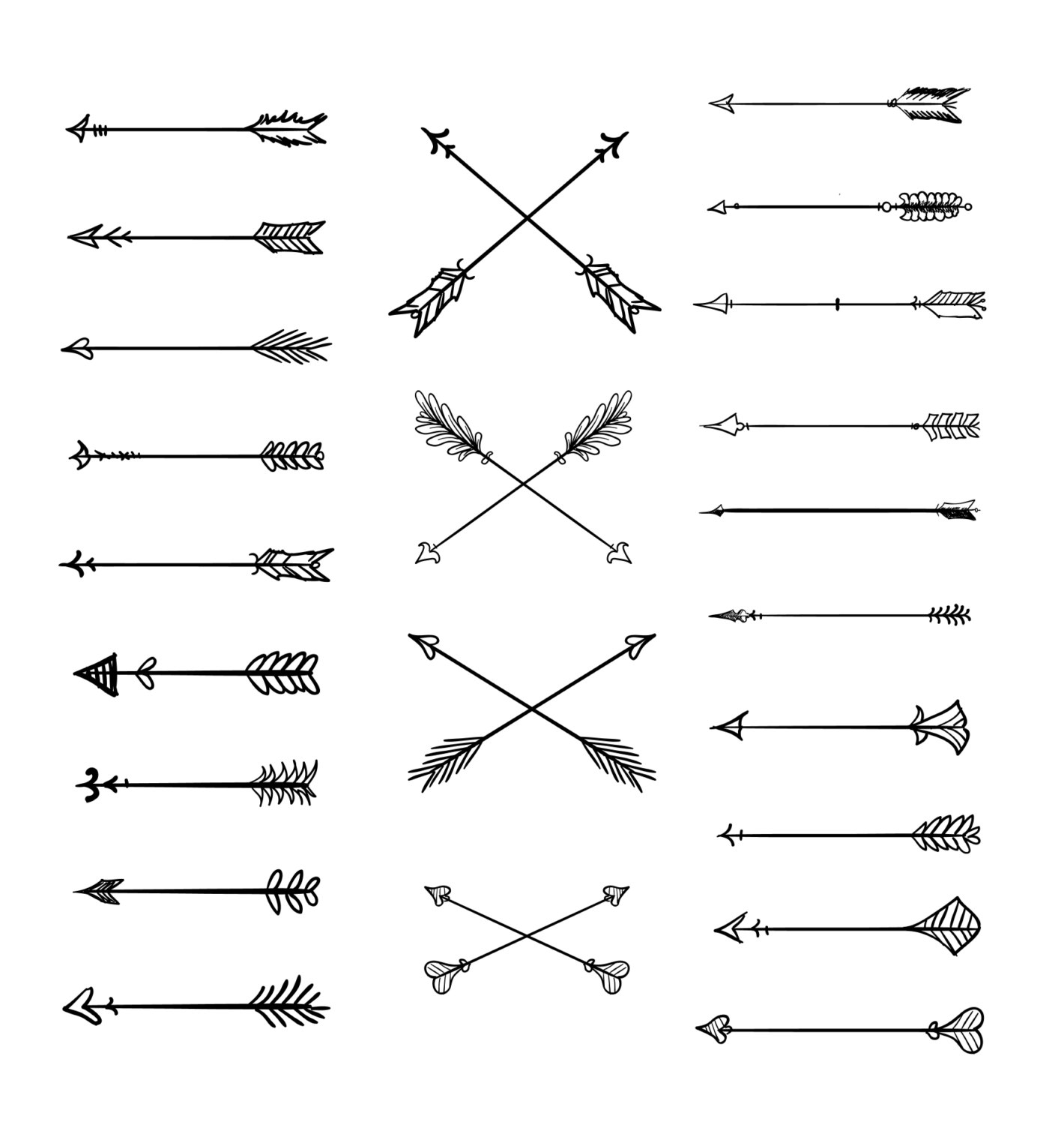 Free Rustic Arrow Cliparts, Download Free Clip Art, Free