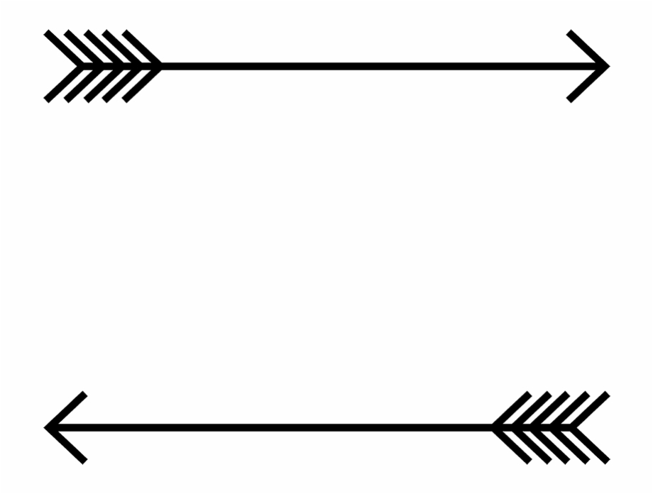 Arrow border rubber.