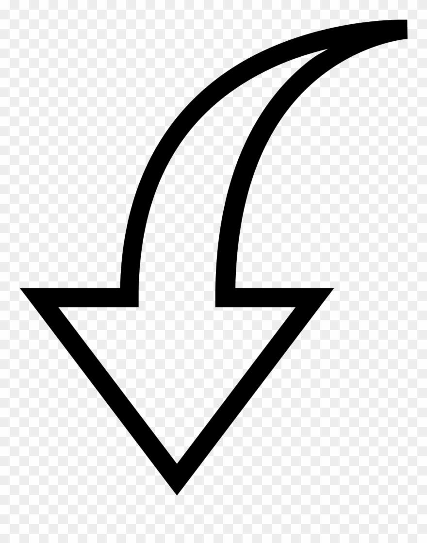 Gothic vector arrow.