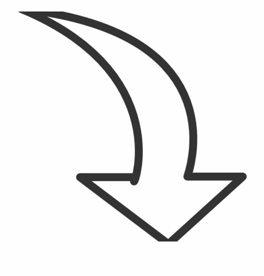 Arrow Transparent White