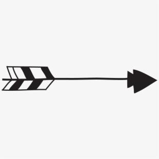 Tribal arrow arrow.