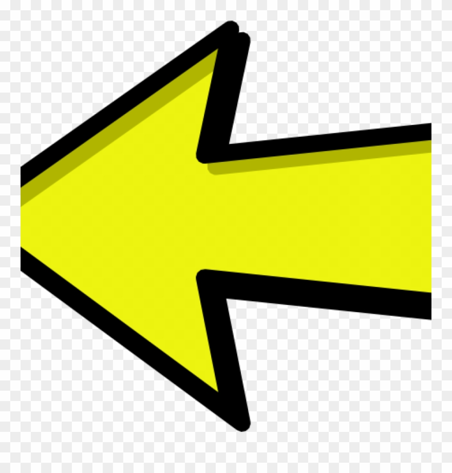 Right Arrow Clipart Left And Right Arrow Yellow Clipart