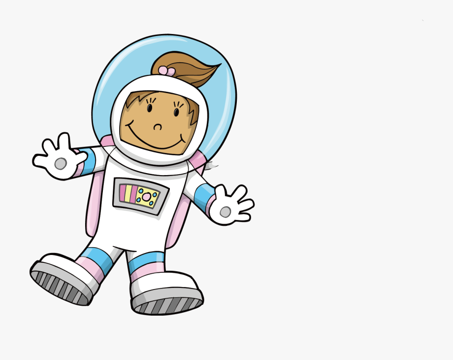 Astronaut clipart space.