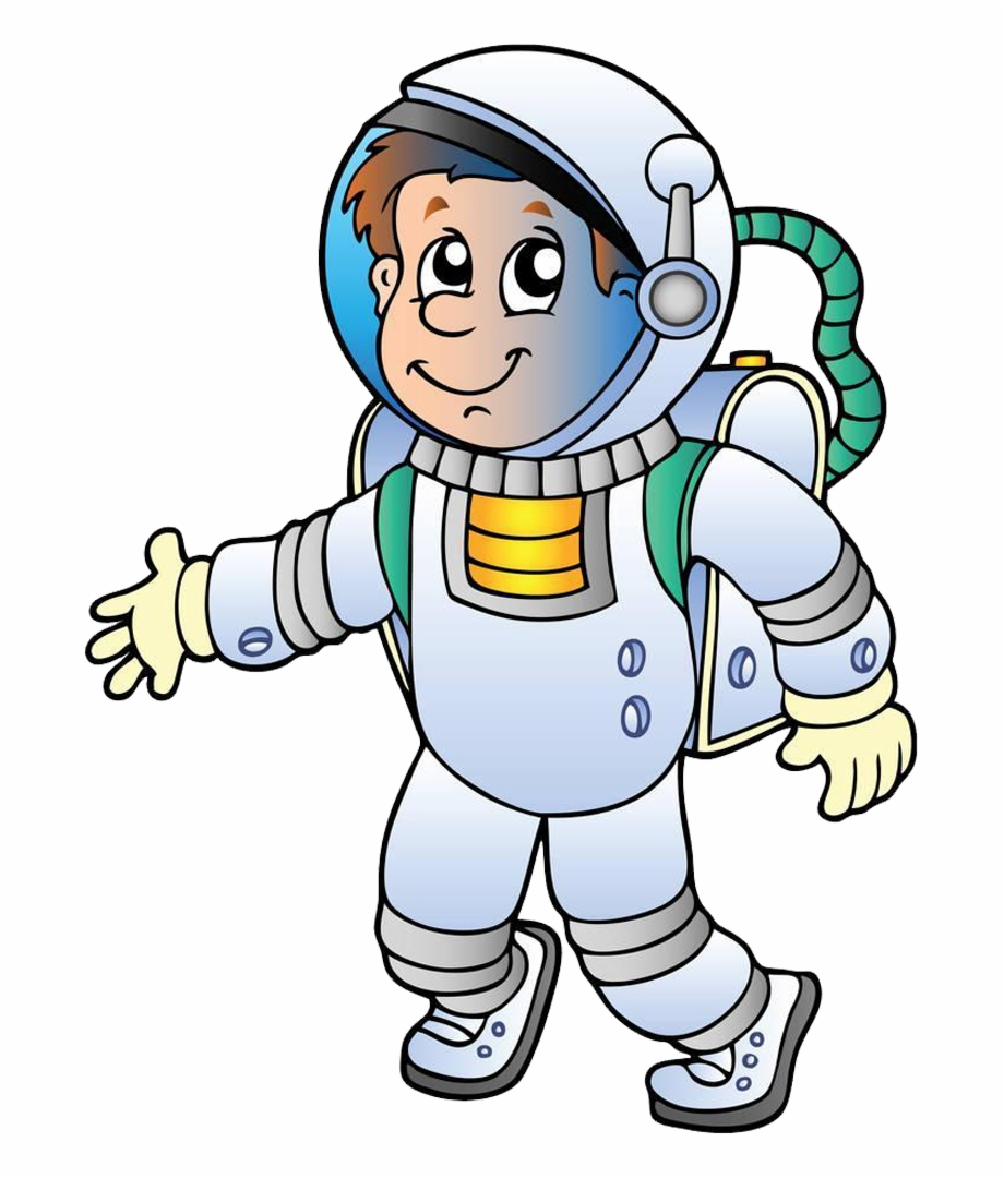 Astronaut clipart cartoon. Space travel picture of