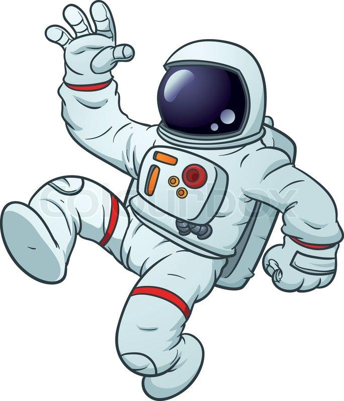 Animated astronaut clipart.
