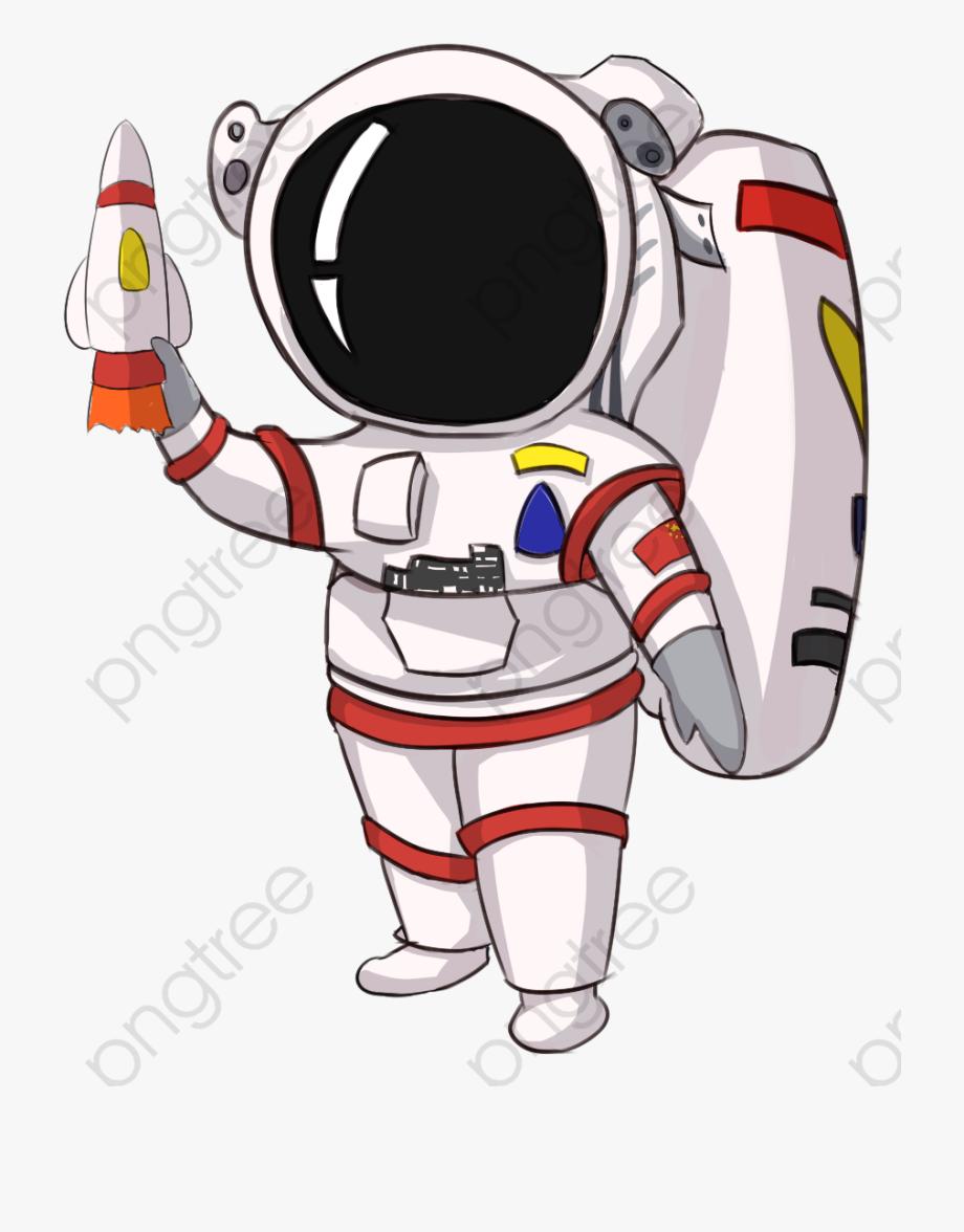Astronaut png cartoon.