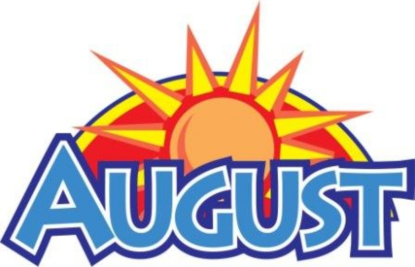 Month august clipart.