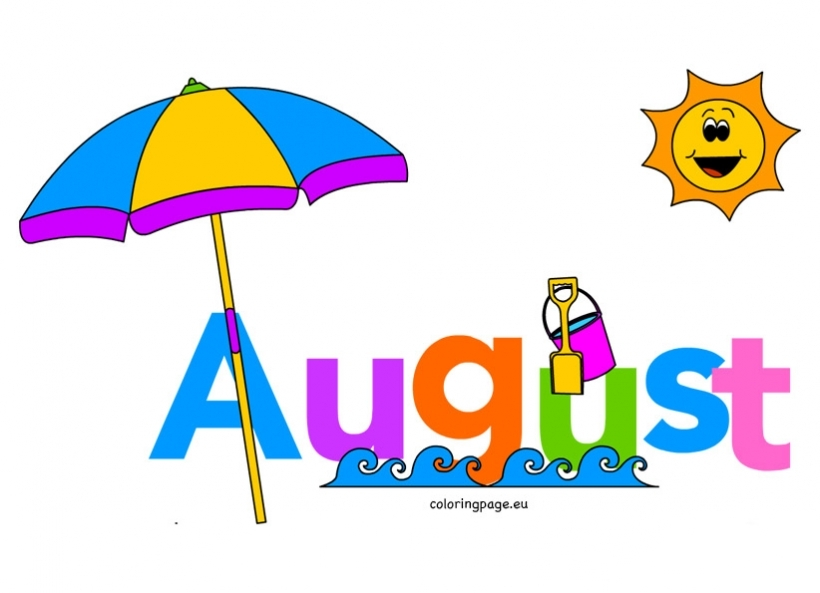 82 august clipart.