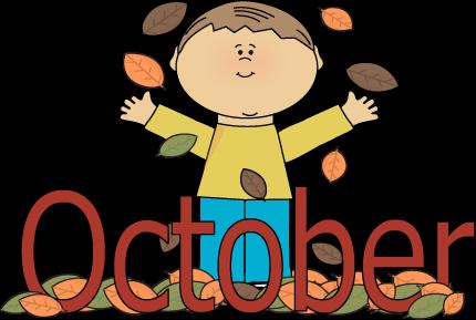 Autumn october month.