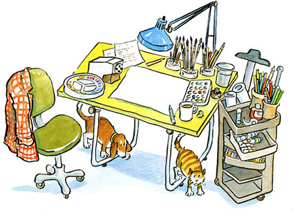 Author clipart work, Author work Transparent FREE for