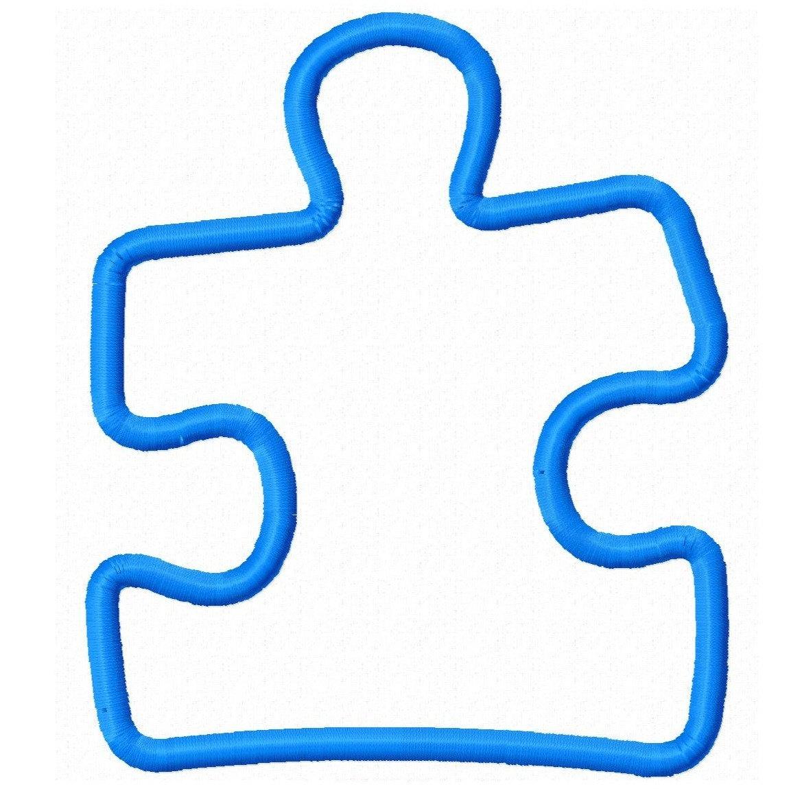 Autism puzzle piece.