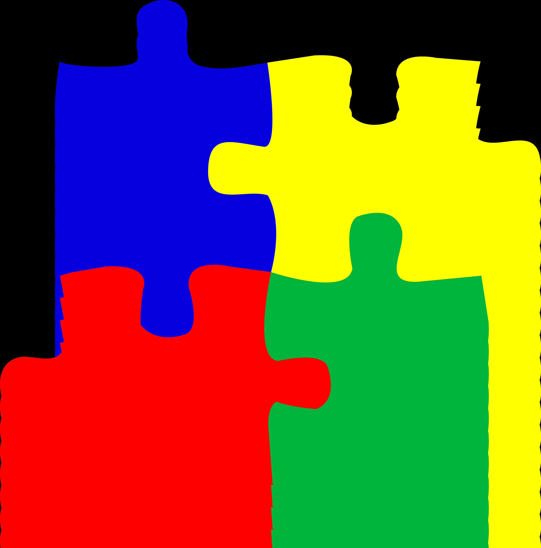 Puzzle clipart images.