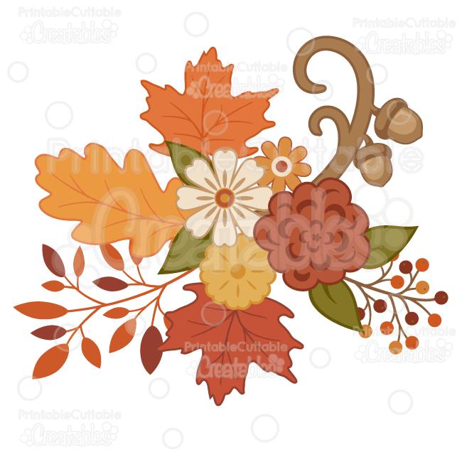 Pretty autumn flowers.